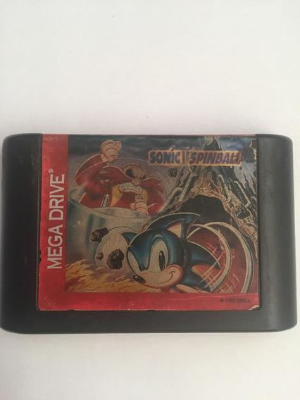 Cartucho Mega Drive Sonic Spinball Tec Toy