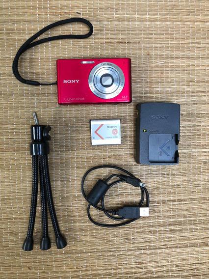 Máquina Digital Filma E Fotografa + Cartao Memória + Tripé