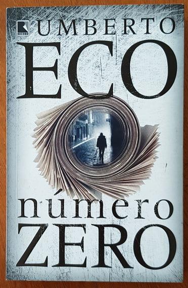 Livro Número Zero - Umberto Eco