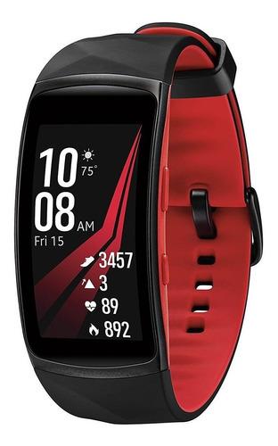 Samsung Gear Fit 2 Pro Fit2 Sm-r365 Galaxy Smartwatch Rojo
