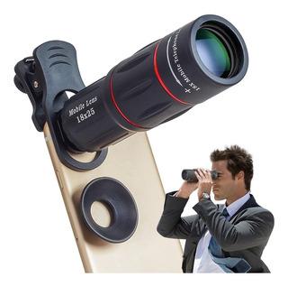 Lente Telescópica Smartphone Modelo Universal Samsung Galaxy iPhone - Semi Profissional - Tipo 18x Super Zoom - Apexel