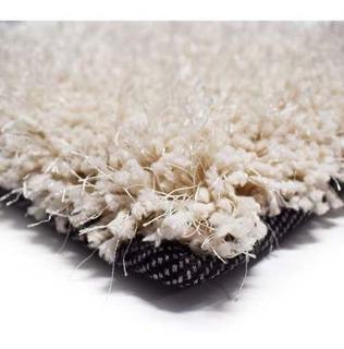 Alfombra Shaggy Soft Color Ivory 160x230cm, Living