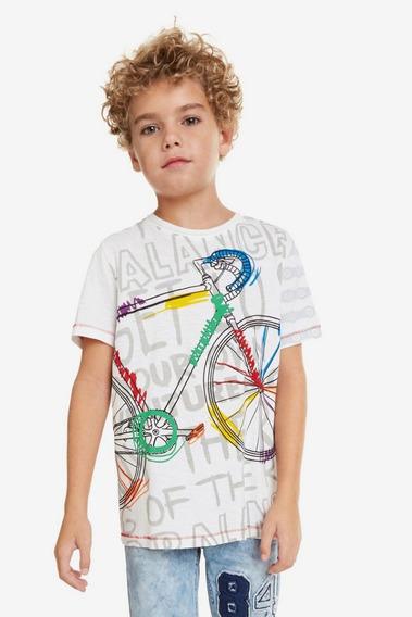 Playera Niño Textil Multicolor Desigual