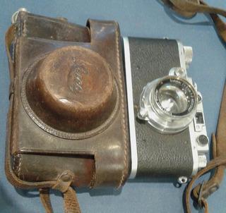 Camara Leica 3 Chrom 1934 Ernst Leitz Wetzlar Lente 1936