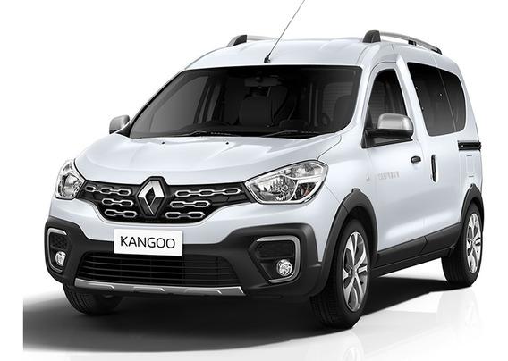 Renault Kangoo Ii Zen 1.6 Blanco 0km 2020 Contado Financiado