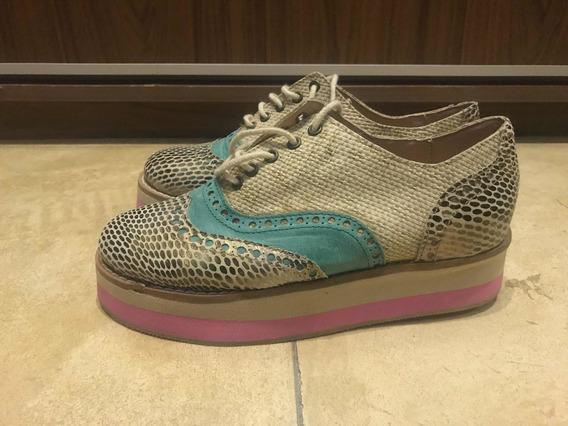 Zapatos Abotinados Marca Carina Irribarren