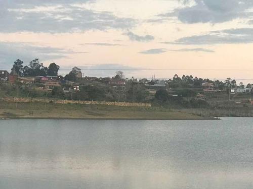 Mesa De Los Santos,espectacular Lote Frente Al Lago Acuarela
