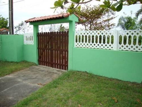 Casa Lado Praia Com Quintal Amplo - Itanhaém 4452   Npc
