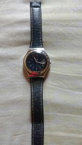 Relógio Swatch Com Calendário Funcionando