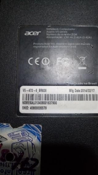 Acer Aspire I3 V5 472/6 (pecas)