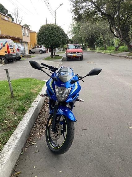 Suzuki Gixxer Sf Azul Moto Gp