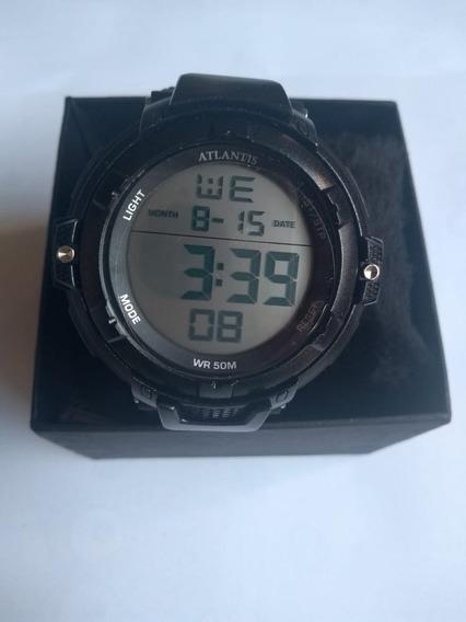 Relógios Atlantis Masculino Prova De Água.
