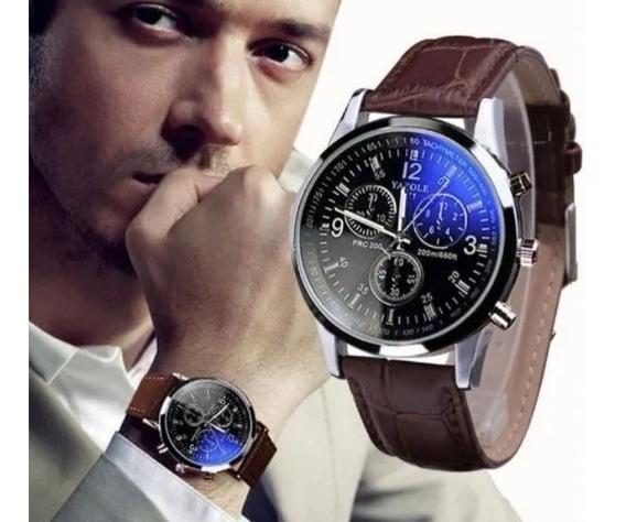 04 Relógios Masculino Revenda Bom Atacado Quartz Promoção