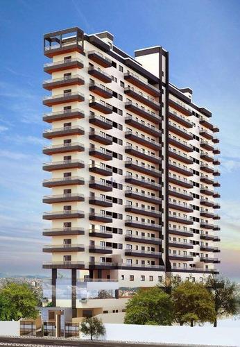 Imagem 1 de 19 de Apartamento Com 2 Dormitórios À Venda, 69 M² Por R$ 490.000,00 - Canto Do Forte - Praia Grande/sp - Ap1182