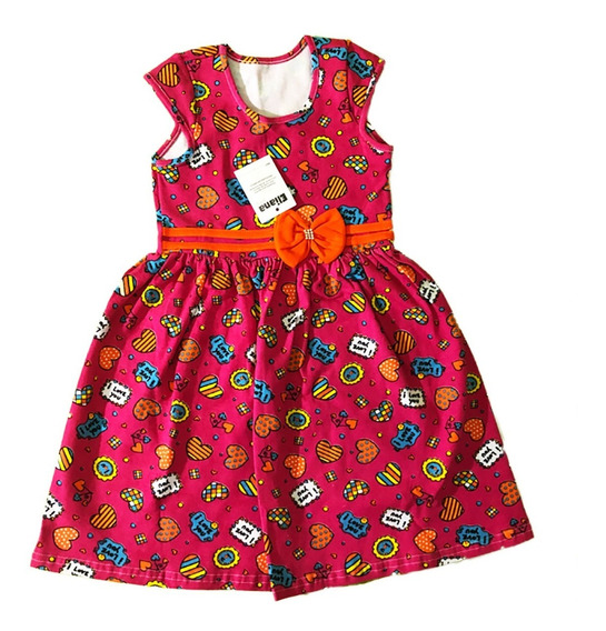 Vestido Infantil Menina Festa Kit 10 Atacado Oferta Promoção