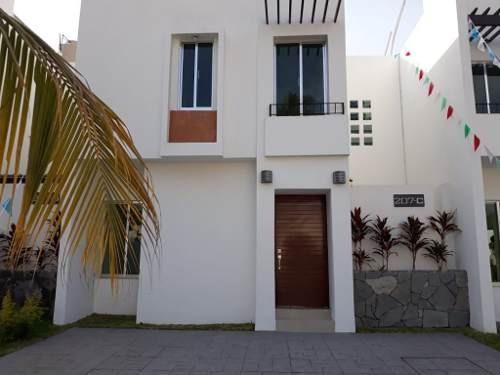 En Venta Casa Mod. Areca En Fracc. El Dorado, Manzanillo, Colima