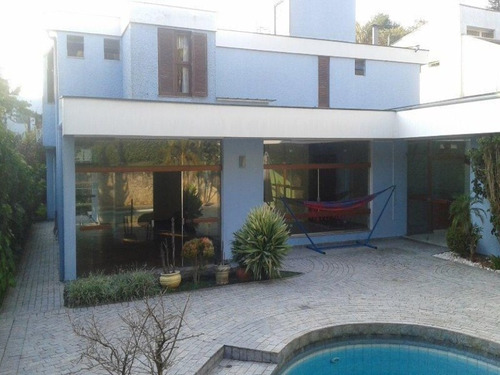 Casa Residencial À Venda, Interlagos, São Paulo. - Ca0070 - 34337075
