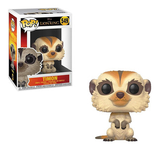 Figura Funko Pop Disney Rey León - Timon 549