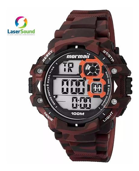 Relógio Mormaii Masculino Mo13609a/8r, C/ Garantia E Nf.