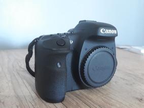 Canon 7d Corpo + Acessórios - Recém Revisada Na Autorizada!