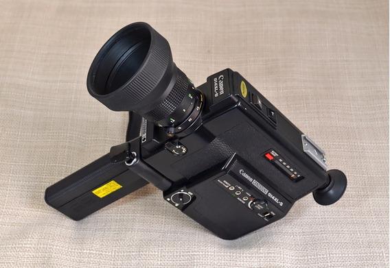 Filmadora Super 8 Canon 514xl-s Com Filme Usado Interno
