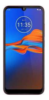 Moto E6 Plus Dual SIM 64 GB Rich cranberry 4 GB RAM