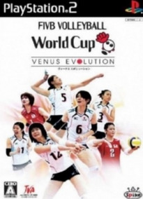 Jogo Ps2 - Fivb Volleyball World Cup Venus Evolution
