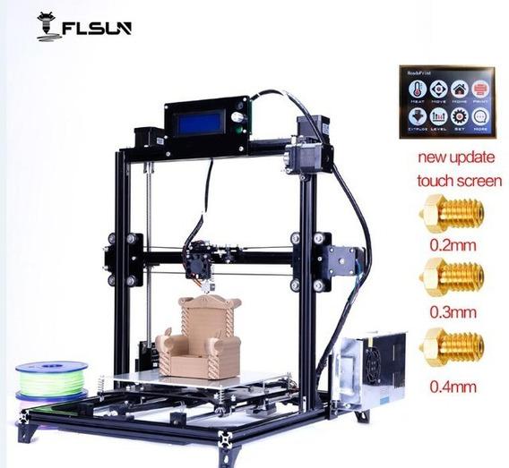 Impressora 3d Prusa I3 Tamanho Grande Impressão Dois Rolos