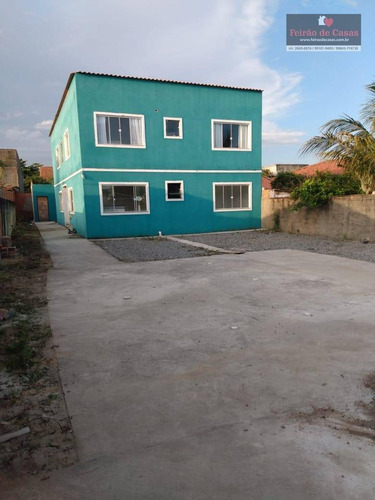 Casa Com 2 Dormitórios À Venda, 60 M² Por R$ 150.000,00 - Unamar - Cabo Frio/rj - Ca0237