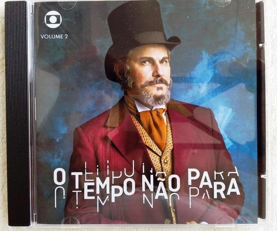 Cd O Tempo Não Pára Vol. 2 Novela / Edição Trilhas & Afins