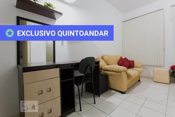 Studio Térreo Mobiliado Com 1 Dormitório E 1 Garagem - Id: 892887464 - 187464