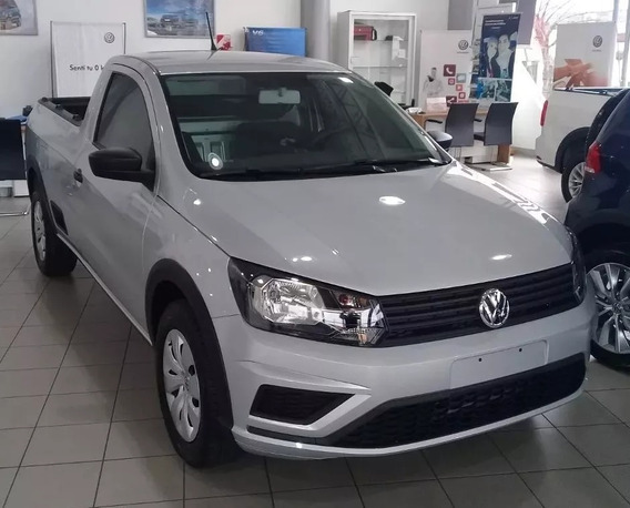 Volkswagen Saveiro Gp 1.6 Cabina Simple Trendline 2019 0 Km
