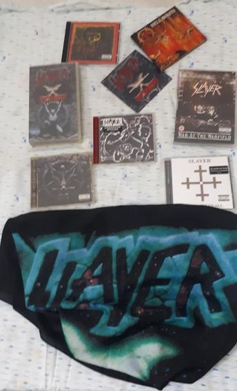 Slayer Raro Coleção Raridade Death Metal Maiden Pantera Raro