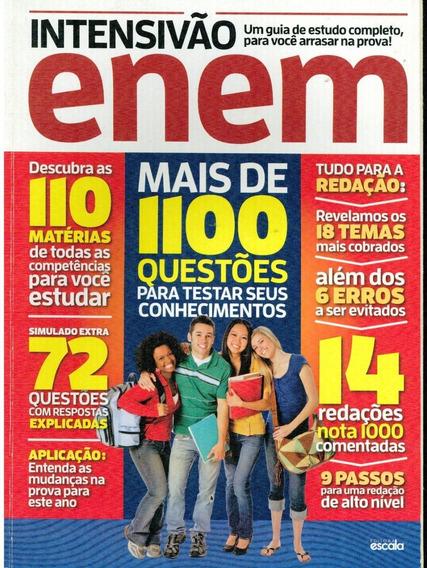 Livro Intensivão Enem Mais De 1100 Questões...