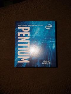 Procesador Intel G4560, 3,50ghz, Socket 1151, Nuevo En Caja