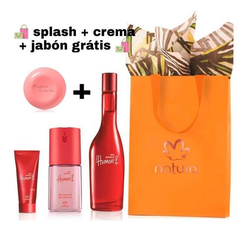 Perfume Humor Meu Primeiro + Mini Natur - mL a $162