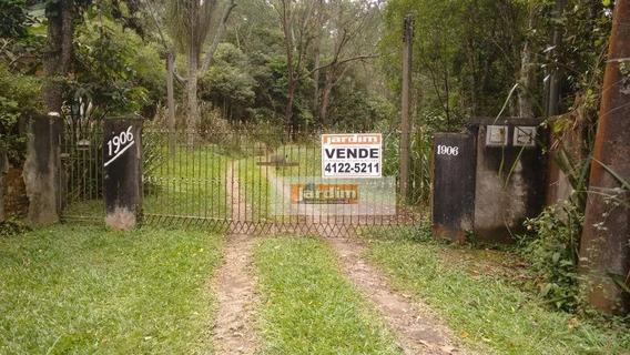Sítio Rural À Venda, Jardim Caçula, Ribeirão Pires. - Si0004