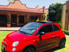 Fiat 500 1.4 3p Abarth 5vel Qc Piel R 17¿ Mt 2013