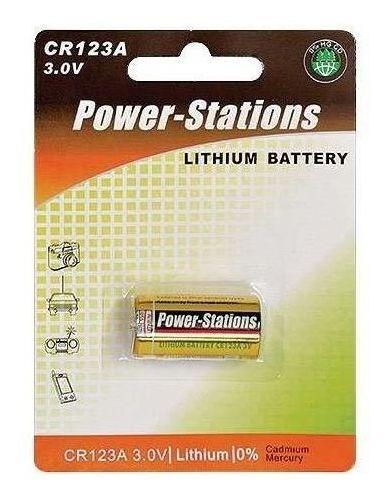 20 Baterias Para Sensores Jfl 3v Cr123a