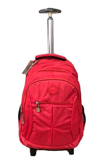 Mochila Notebook Com Rodas Viagem Ou Escolar Estilo Kipl