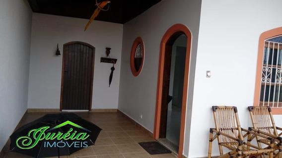 Casa Pertinho Da Praia Com 3 Quartos. Peruíbe/sp