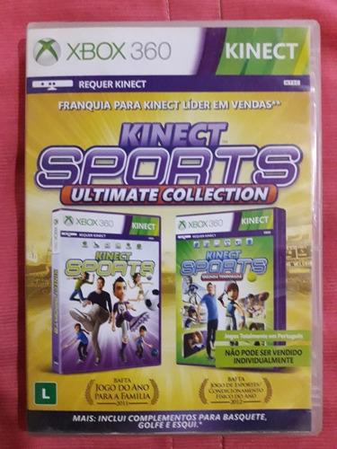Kinect Sports Ultimate Collection Xbox 360 Português