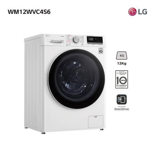 Lavarropas LG 12kg Carga Frontal Inverter Wm12 14 Pro Albion