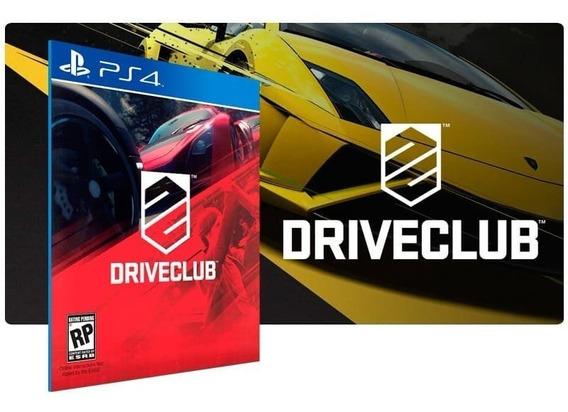 Driveclub - Ps4 - Original 2 - Codigo Psn!