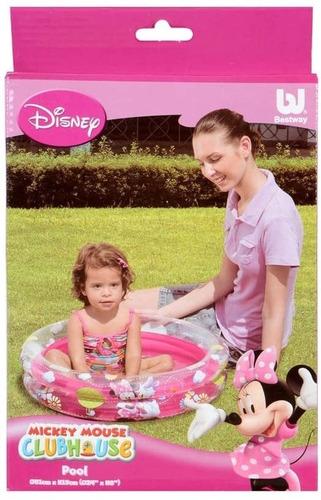 Imagen 1 de 3 de Pileta Inflable Minnie Mouse