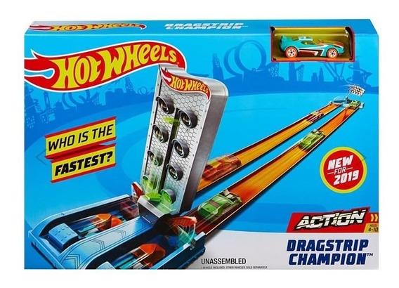 Pista Hot Wheels Campeonato De Corridas Mattel