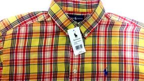 Camisa Polo Talla 16-18 Para Caballero Manga Larga