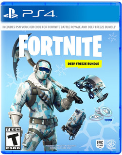 Fortnite / Deep Freeze Bundle / Juego Físico / Ps4