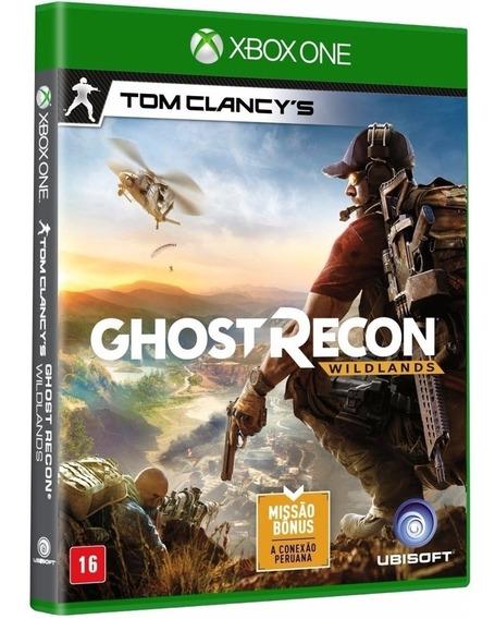 Ghost Recon Wild Lands Xbox One Midia Fisica Cd Original Br