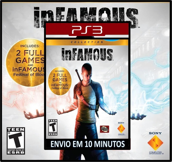 Infamous Collection - 3x1 - Playstation 3